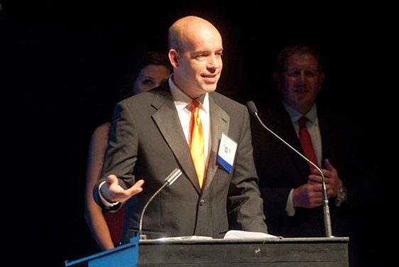 Bruce Freshwater Accepting 2012 PA Technology Company of the Year